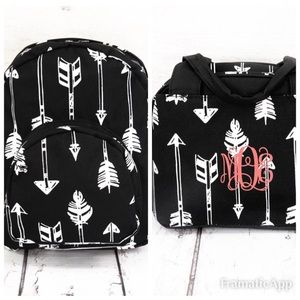 BACK TO SCHOOL Backpack & Lunch bag set